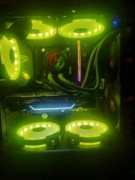 Título do anúncio: Pc gamer i7 10700f troco em moto 600