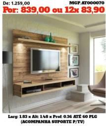 Super Desconto em MS- Painel de televisão até 60 Plg-Painel Grande- Sala de Estar