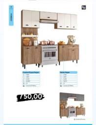 Título do anúncio: Cozinha 03 pças pepper balcão pepper na promoção com entrega grátis