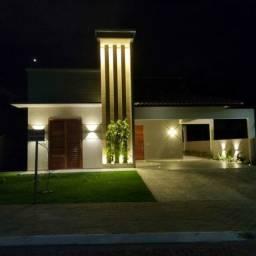 Espetacular casa plana em residencial de alto padrao  #ce11