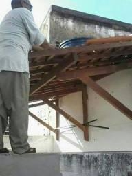 Paulo  mão francesa reforma de Telhados coberta pregolado caramanchão