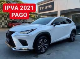 Título do anúncio: Lexus NX 300H F-Sport Hybrid 2019 c/ IPVA 2021 PAGO