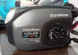 Filmadora gradiente modelo GCP-195<br>Em perfeito estado<br>Até 12x sem juros nos cartões