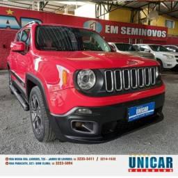 Título do anúncio: Jeep Renegade Longitude 1.8 2016 Vermelho Lindo