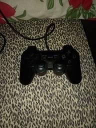 Controle de PS2 para retirada de peças
