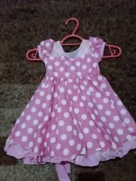Vestido INFANTIL MINIE ROSA