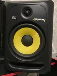 Par de monitores KrK pra studio