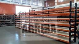 Título do anúncio: Estante industrial prateleira gôndolas mini porta palete pallet