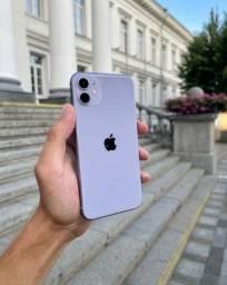 Título do anúncio: Iphone 11 purple impecável