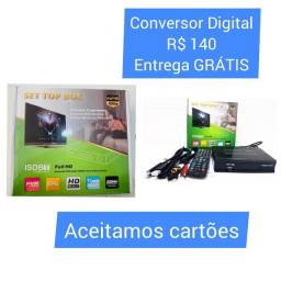 Título do anúncio: Conversor Digital Set Top Box