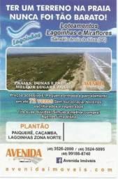 Terrenos na praia com financiamento próprio