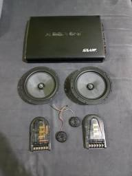 Kit 2vias jbl ms 62c e modulo audiophonic