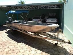 Barco motor e carreta - 2016