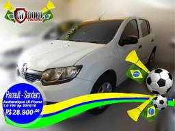 Renault Sandero Authentique Hi-Power 1.0 16V 5p - 2015