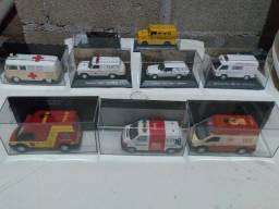 Coleção, Réplicas de miniaturas de Ambulâncias