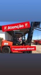 Empilhadeira 7 toneladas diesel 2015