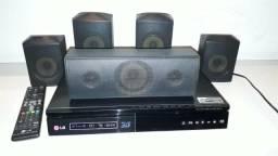 Home teather LG 1000W Modelo BH6730S 5.1 Blu-ray 3D