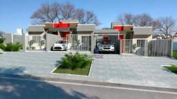 Casa com 3 dormitórios à venda por R$ 195.000,00 - Santa Felicidade - Cascavel/PR