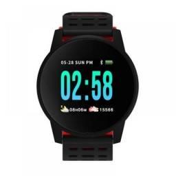 Relógio Smartwatch W1 Monitor Batimentos e Pressão Completo