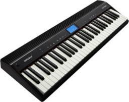 Teclado Piano Digital Roland GO61 P + Garantia NF Somos Loja Autorizada
