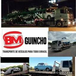 Transporte de veículos cegonha guincho