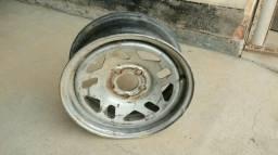 """1 Roda aço/ferro da Ford Ranger aro 15"""" tala 6"""" furacão 5x114,3 mm"""