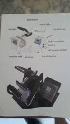 Máquina para trabalhos de sublimação de canecas