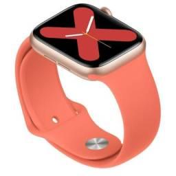 Relógio Smartwatch Iwo 12 Batimentos Cardiacos Notificações Whatsapp Faz Ligações