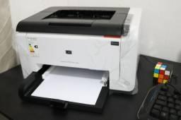 Impressora Hp Laser Jet Cp1025mw Color Transfer Colorido Novo Modelo C/Wifi