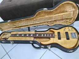 Baixo de luthier feito por Fábio zuno