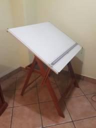 Mesa de Desenho Profissional Com Régua Paralela