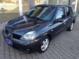 Clio sedan completaço financiamento direto otima condicao confira - 2007