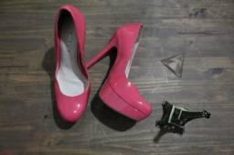Salto Alto rosa - Viamarte - Tamanho 36