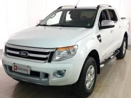 Ford Ranger Limited 3.2 20V 4x4 CD Aut. Dies. - Branco - 2014 - 2014
