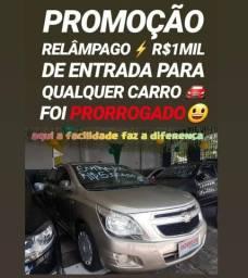 Showroom FACILIDADES! R$1MIL DE ENTRADA(COBALT LTZ AUTOMÁTICO 2013)
