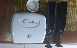 Central de alarme com sensor infravermelho