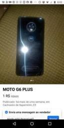 Vendo telefone moto g6 bem conservado
