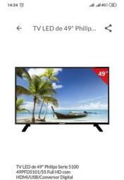Vendo tv nova 50 polegadas philips 1250,00 reais