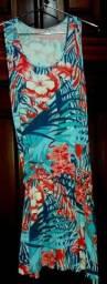 Vestido e Saia Azul