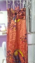 Vestido longo top