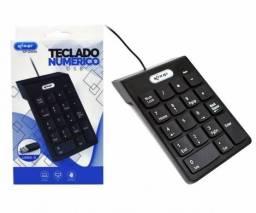 Teclado Numérico USB Notebook PC Android Windows Calculadora - Loja Natan Abreu