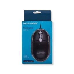Mouse mo255 box preto multilaser