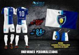 Uniformes de Futebol 100% Personazlidos!