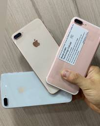 iPhone 8 Plus no plástico zero garantia loja física