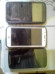 Troco 3 celulares por 1