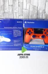 Controle Joystick sem fio Dualshock 4 para PlayStation
