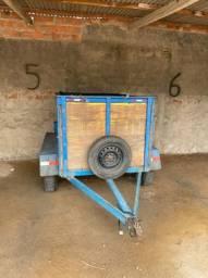 Reboque truncado / carrocinha