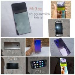 Título do anúncio: Troco mi9 128g e 6ram se e s7flat por iPhone 8 ou S10 plus