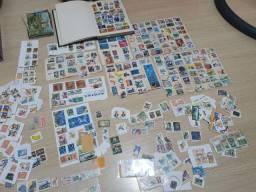 Selos Coleção Vendo ou Troco por Moedas Antigas