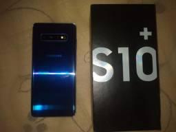 S10 plus caixa e acessórios